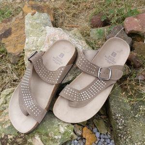 White Mountain 'Coaster' Thong Sandal